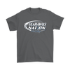 NFL – Bud Light Dilly Dilly A True Friend Of The Seattle Seahawks Nation NFL Football Shirt-T-shirt-Gildan Mens T-Shirt-Charcoal-S-Itees Global