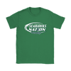 NFL – Bud Light Dilly Dilly A True Friend Of The Seattle Seahawks Nation NFL Football Shirt-T-shirt-Gildan Womens T-Shirt-Irish Green-S-Itees Global