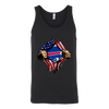 NFL - Buffalo Bills Independence Day Football Shirts-T-shirt-Canvas Unisex Tank-Black-S-PopsSpot