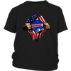 NFL - Buffalo Bills Independence Day Football Shirts-T-shirt-District Youth Shirt-Black-XS-PopsSpot