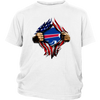 NFL - Buffalo Bills Independence Day Football Shirts-T-shirt-District Youth Shirt-White-XS-PopsSpot