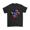 NFL - Buffalo Bills Independence Day Football Shirts-T-shirt-Gildan Mens T-Shirt-Black-S-PopsSpot