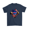 NFL - Buffalo Bills Independence Day Football Shirts-T-shirt-Gildan Mens T-Shirt-Navy-S-PopsSpot