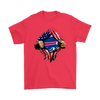 NFL - Buffalo Bills Independence Day Football Shirts-T-shirt-Gildan Mens T-Shirt-Red-S-PopsSpot