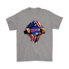 NFL - Buffalo Bills Independence Day Football Shirts-T-shirt-Gildan Mens T-Shirt-Sport Grey-S-PopsSpot