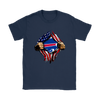 NFL - Buffalo Bills Independence Day Football Shirts-T-shirt-Gildan Womens T-Shirt-Navy-S-PopsSpot