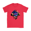 NFL - Buffalo Bills Independence Day Football Shirts-T-shirt-Gildan Womens T-Shirt-Red-S-PopsSpot