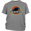 NFL - Carolina Panthers Jurassic World: Fallen Kingdom Football NFL Shirts-T-shirt-District Youth Shirt-Sport Grey-XS-PopsSpot