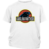 NFL - Carolina Panthers Jurassic World: Fallen Kingdom Football NFL Shirts-T-shirt-District Youth Shirt-White-XS-PopsSpot