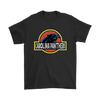 NFL - Carolina Panthers Jurassic World: Fallen Kingdom Football NFL Shirts-T-shirt-Gildan Mens T-Shirt-Black-S-PopsSpot