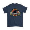 NFL - Carolina Panthers Jurassic World: Fallen Kingdom Football NFL Shirts-T-shirt-Gildan Mens T-Shirt-Navy-S-PopsSpot