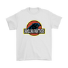 NFL - Carolina Panthers Jurassic World: Fallen Kingdom Football NFL Shirts-T-shirt-Gildan Mens T-Shirt-White-S-PopsSpot