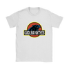 NFL - Carolina Panthers Jurassic World: Fallen Kingdom Football NFL Shirts-T-shirt-Gildan Womens T-Shirt-White-S-PopsSpot