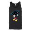 NFL - Carolina Panthers Mickey Mouse Dabbing NFL Football Shirts-T-shirt-Canvas Unisex Tank-Black-S-PopsSpot