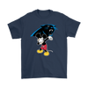 NFL - Carolina Panthers Mickey Mouse Dabbing NFL Football Shirts-T-shirt-Gildan Mens T-Shirt-Navy-S-PopsSpot