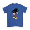 NFL - Carolina Panthers Mickey Mouse Dabbing NFL Football Shirts-T-shirt-Gildan Mens T-Shirt-Royal Blue-S-PopsSpot