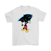 NFL - Carolina Panthers Mickey Mouse Dabbing NFL Football Shirts-T-shirt-Gildan Mens T-Shirt-White-S-PopsSpot