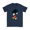 NFL - Carolina Panthers Mickey Mouse Dabbing NFL Football Shirts-T-shirt-Gildan Womens T-Shirt-Navy-S-PopsSpot