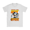 NFL – Carolina Panthers Never Lose Hope x Mickey Mouse Shirts-T-shirt-Gildan Womens T-Shirt-White-S-PopsSpot