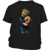 NFL - Chicago Bears Guardians Of The Galaxy Groot Football NFL Shirts-T-shirt-District Youth Shirt-Black-XS-Itees Global