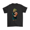 NFL - Chicago Bears Guardians Of The Galaxy Groot Football NFL Shirts-T-shirt-Gildan Mens T-Shirt-Black-S-Itees Global