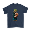 NFL - Chicago Bears Guardians Of The Galaxy Groot Football NFL Shirts-T-shirt-Gildan Mens T-Shirt-Navy-S-Itees Global