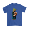 NFL - Chicago Bears Guardians Of The Galaxy Groot Football NFL Shirts-T-shirt-Gildan Mens T-Shirt-Royal Blue-S-Itees Global