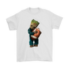 NFL - Chicago Bears Guardians Of The Galaxy Groot Football NFL Shirts-T-shirt-Gildan Mens T-Shirt-White-S-Itees Global