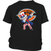NFL - Chicago Bears Uncle Sam Dabbing Independence Day NFL Football Shirts-T-shirt-District Youth Shirt-Black-XS-PopsSpot