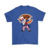 NFL - Chicago Bears Uncle Sam Dabbing Independence Day NFL Football Shirts-T-shirt-Gildan Mens T-Shirt-Royal Blue-S-PopsSpot