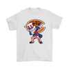 NFL - Chicago Bears Uncle Sam Dabbing Independence Day NFL Football Shirts-T-shirt-Gildan Mens T-Shirt-White-S-PopsSpot
