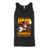 NFL – Cincinnati Bengals Never Lose Hope x Mickey Mouse Shirts-T-shirt-Canvas Unisex Tank-Black-S-PopsSpot