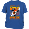 NFL – Cincinnati Bengals Never Lose Hope x Mickey Mouse Shirts-T-shirt-District Youth Shirt-Royal Blue-XS-PopsSpot