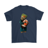 NFL - Cleveland Browns Guardians Of The Galaxy Groot Football NFL Shirts-T-shirt-Gildan Mens T-Shirt-Navy-S-Itees Global