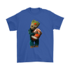 NFL - Cleveland Browns Guardians Of The Galaxy Groot Football NFL Shirts-T-shirt-Gildan Mens T-Shirt-Royal Blue-S-Itees Global
