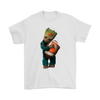 NFL - Cleveland Browns Guardians Of The Galaxy Groot Football NFL Shirts-T-shirt-Gildan Mens T-Shirt-White-S-Itees Global