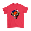 NFL - Cleveland Browns Independence Day Football Shirts-T-shirt-Gildan Mens T-Shirt-Red-S-Itees Global