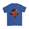 NFL - Cleveland Browns Independence Day Football Shirts-T-shirt-Gildan Mens T-Shirt-Royal Blue-S-Itees Global