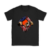 NFL - Cleveland Browns Independence Day Football Shirts-T-shirt-Gildan Womens T-Shirt-Black-S-Itees Global