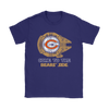 NFL - Come To The Chicago Bears' Side Star Wars Shirts-T-shirt-Gildan Mens T-Shirt-Black-S-Itees Global