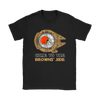 NFL - Come To The Cleveland Browns' Side Star Wars Shirts-T-shirt-Gildan Mens T-Shirt-Black-S-Itees Global
