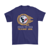 NFL - Come To The Houston Texans' Side Star Wars Shirts-T-shirt-Gildan Mens T-Shirt-Purple-S-Itees Global