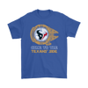 NFL - Come To The Houston Texans' Side Star Wars Shirts-T-shirt-Gildan Mens T-Shirt-Royal Blue-S-Itees Global