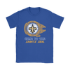 NFL - Come To The New Orleans Saints' Side Star Wars Shirts-T-shirt-Gildan Mens T-Shirt-Black-S-Itees Global