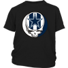 NFL - Dallas Cowboys Grateful Dead Steal Your Face Football NFL Shirts-T-shirt-District Youth Shirt-Black-XS-PopsSpot
