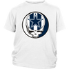 NFL - Dallas Cowboys Grateful Dead Steal Your Face Football NFL Shirts-T-shirt-District Youth Shirt-White-XS-PopsSpot