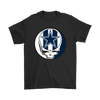 NFL - Dallas Cowboys Grateful Dead Steal Your Face Football NFL Shirts-T-shirt-Gildan Mens T-Shirt-Black-S-PopsSpot