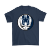 NFL - Dallas Cowboys Grateful Dead Steal Your Face Football NFL Shirts-T-shirt-Gildan Mens T-Shirt-Navy-S-PopsSpot