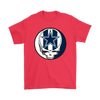 NFL - Dallas Cowboys Grateful Dead Steal Your Face Football NFL Shirts-T-shirt-Gildan Mens T-Shirt-Red-S-PopsSpot