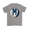 NFL - Dallas Cowboys Grateful Dead Steal Your Face Football NFL Shirts-T-shirt-Gildan Mens T-Shirt-Sport Grey-S-PopsSpot